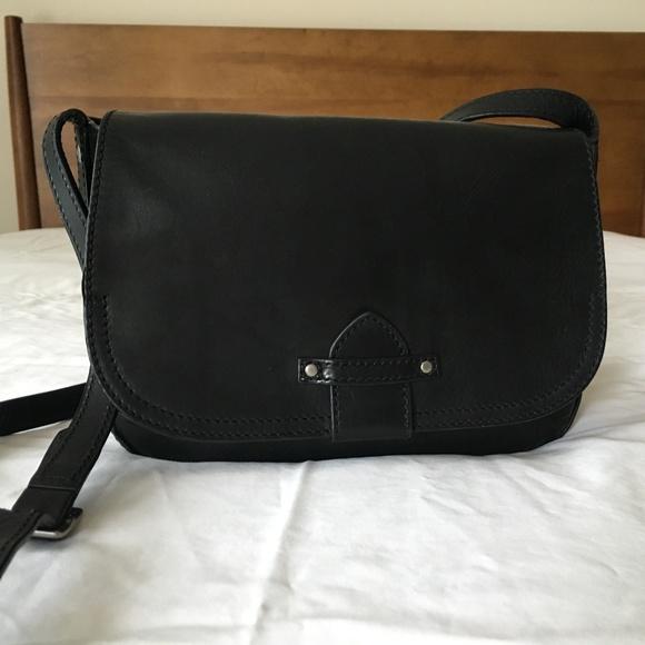 38916a439f Frye Handbags - Frye Black Leather Casey Cross Body Bag